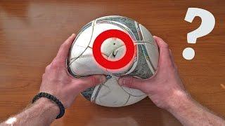 ЛАЙФХАК  Как отремонтировать мяч   How to fix soccer ball