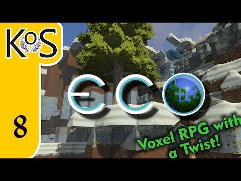 Eco Ep 8: NEW UPDATE! 0.7.2 - Voxel Builder/RPG - Let's Play, Gameplay