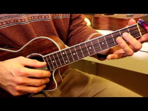• Как играть гамму до мажор? Базовое упражнение на укулеле. Укулеле для начинающих. Видео-урок № 2 •