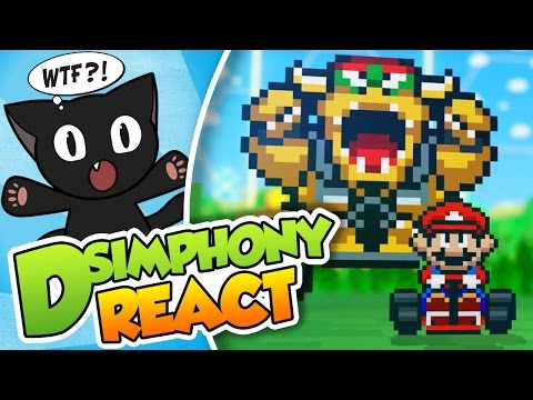 Super Mario Rocket League!!| DSimphony React (Video-reacción) #DSimReact