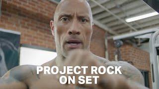 Project Rock On Set. BEND BOUNDARIES. | Dwayne Johnson Under Armour Campaign