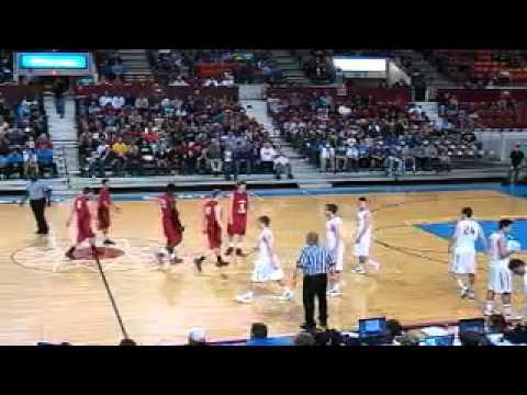 Ottawa vs. Basehor Linwood high school basketball 4A State Championship 3.10.12
