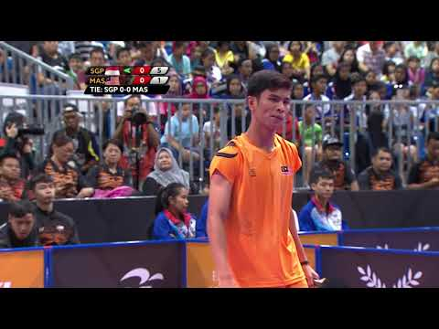 KL2017 29th SEA Games | Table Tennis - Men's Teams - Grouping Stage