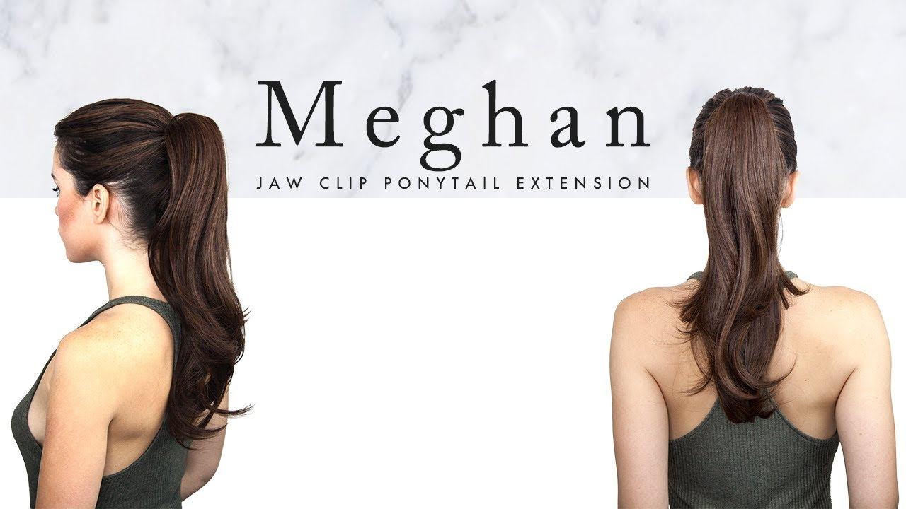 How-to-Style: Meghan 18'' Ponytail Extensions