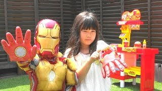 IRONMAN AVENGERS Toy REPULSOR GLOVES アイアンマン おもちゃ リパルサーグローブ