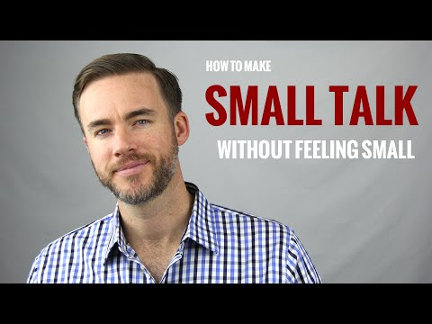How to Make Small Talk | The Distilled Man