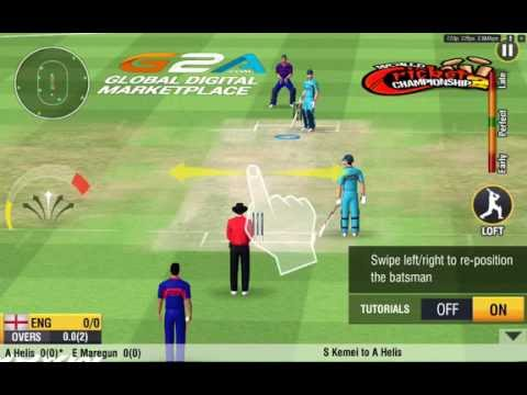 World Cricket Championships 2-Android HD Gameplay