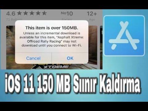 Iphone Ios 11 150 Mb Siniri Kaldirma