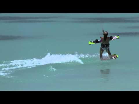 Kitesurfing Technique - Deep Water Board Carry Part 2