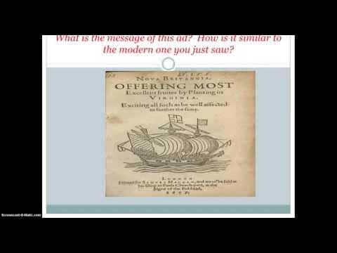 Jamestown: Exploring Corporations Complete History Lesson
