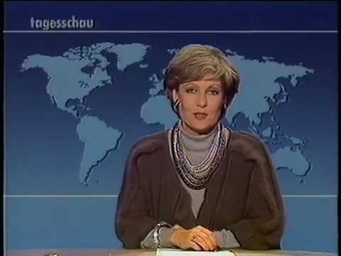ARD Tagesschau zum Sendeschluß Mo. 19.10.1987