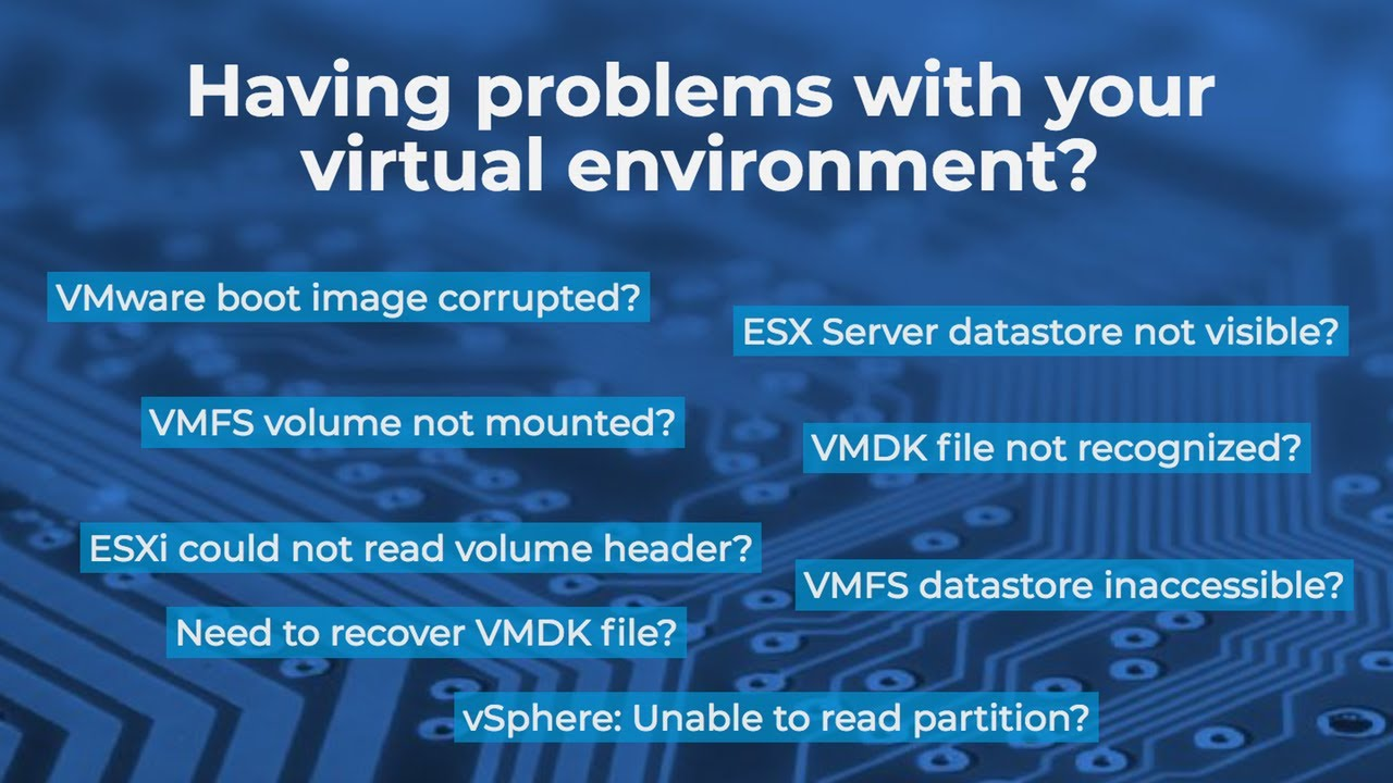 VMware Data Recovery  Recovering Virtual Disk Images (VMDK