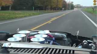 Ford 408 windsor Stroker in 70 Mach 1 test drive