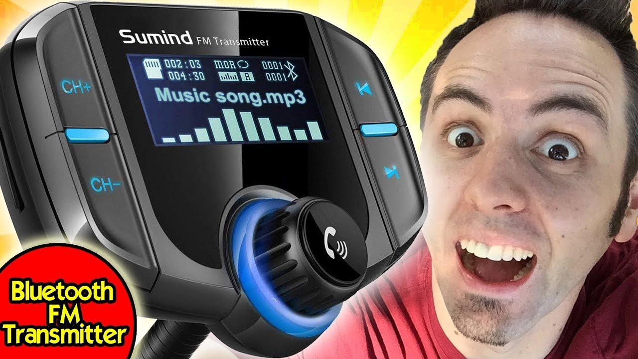 BEST BLUETOOTH FM TRANSMITTER FOR CAR | Sumind Bluetooth FM Transmitter  Review