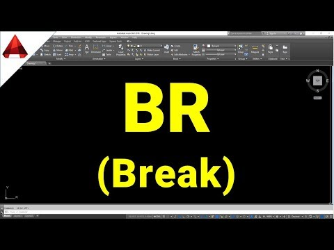 LỆNH BR (Break) trong autocad ✅ Lệnh bẻ gãy đối tượng (breaking objects in cad)