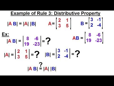 Linear Algebra Ch 2 Determinants 9 Of 48 Example Of Rule 3