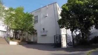 140713 Helsinki, Kaarlenkuja Aleksis Kiven koulun piha.