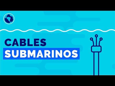 Cómo funciona internet: los cables submarinos que conectan al mundo