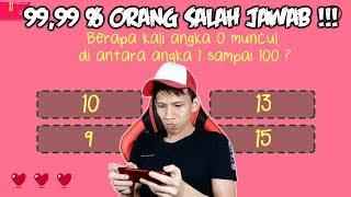 99% Orang Indonesia Salah Menjawab Pertanyaan Di Game ini !!!