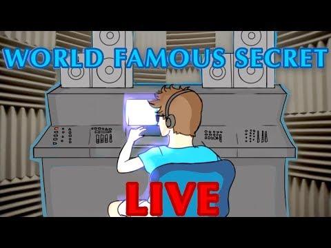 WORLD FAMOUS SECRET LIVE STREAM (MAKING MUSIC)