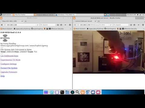 ESP-RFID-Tool REPLAY ATTACK on UHPPOTE Wiegand Controller with HID 5355 Reader using ProxCard II Tag