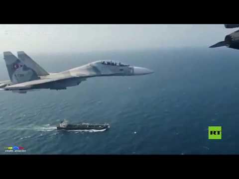 -سو-30- و-إف-16- تحلق فوق ناقلة نفط إيرانية  - نشر قبل 8 ساعة
