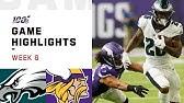 Eagles vs. Vikings Week 6 Highlights | NFL 2019