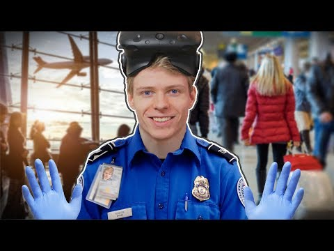 AIRPORT SECURITY SIMULATOR IN VIRTUAL REALITY | TSA Frisky VR (HTC Vive Gameplay)