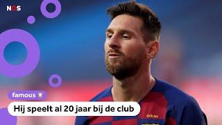 Messi wil weg bij FC Barcelona