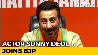 """Want PM Modi For The Next 5 Years,"" Says Sunny Deol After Joining BJP"