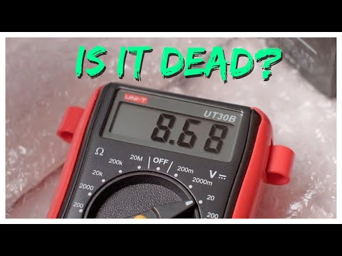 Knowing WHEN To Change Your Battery Using A Multimeter Or A CTEK Charger