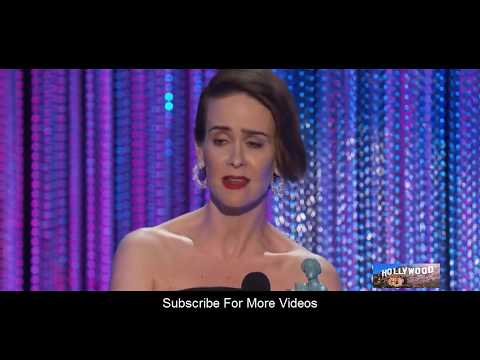 Sarah Paulson (Female Actor) Speech  at The 23rd Annual Screen Actors Guild Awards 2017