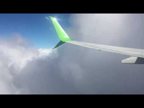 Turbulence during Cape Town storm