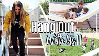 HANG OUT WITH US 2020 :: SPEND THE DAY #WITHME AT HOME :: #STAYHOME DITL VLOG