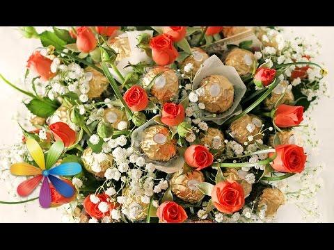 Cмотреть видео онлайн Букет на 1 сентября из конфет  Все буде добре - Выпуск 654 - 18.08.15