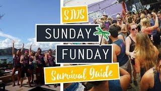 sunday funday survival guide san juan del sur nicaragua