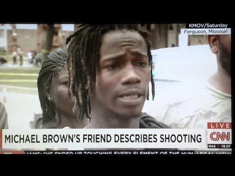 Eyewitness accounts of Michael Brown's Murder