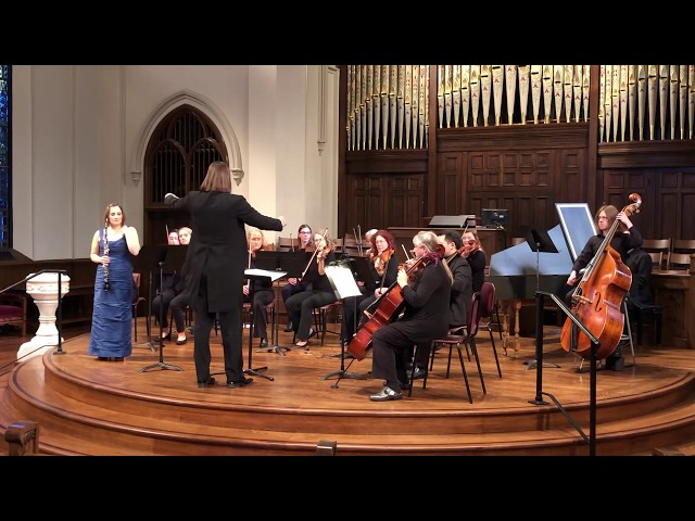 J.S. Bach Concerto in A Minor for Oboe d'Amore feat. ToniMarie Marchioni - Lexington Chamber Orch