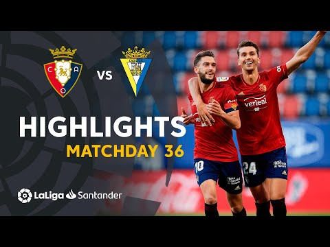 Osasuna Cadiz Goals And Highlights