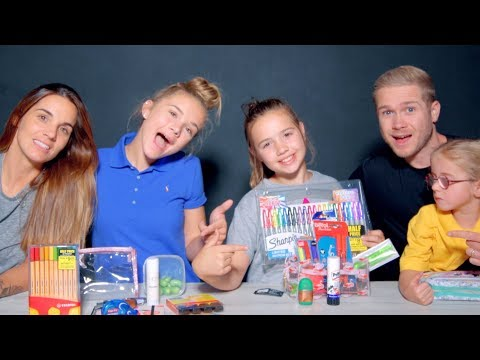 Back to School Haul  - Memory Game!