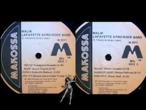 Lafayette Afro Rock Band - Malik (1975) Full Album