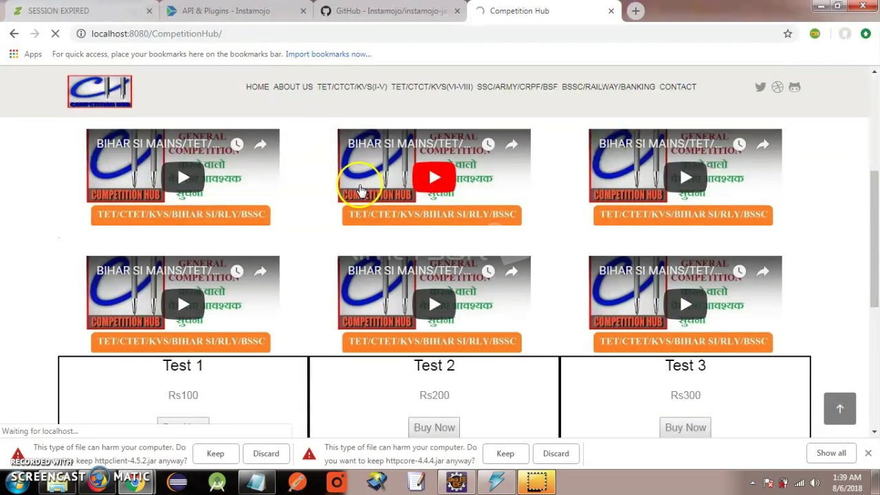 Instamojo Payment Gateway Integration with Java - YouTube
