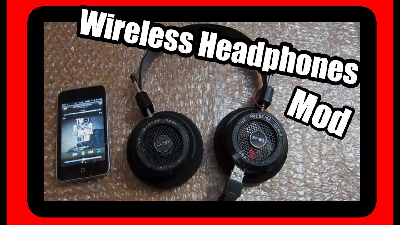 bluetooth wireless headphones mod grado sr80i youtube Dvd Wiring Diagram grado headphones wiring diagram