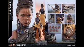 Hot Toys Shuri and Throne from Black Panther 1/6 Scale preview and price comparison