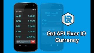 Android Studio - Get API fixer io Currency