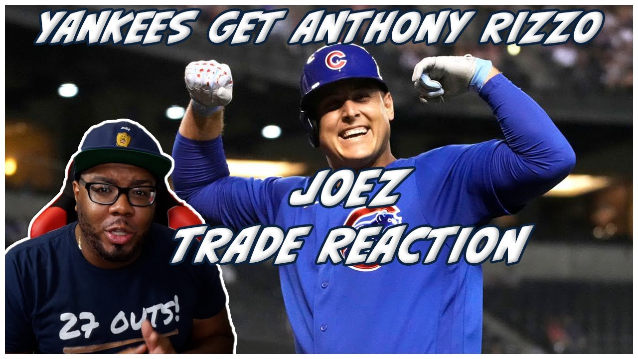 Cubs trade Anthony Rizzo to Yankees: reports