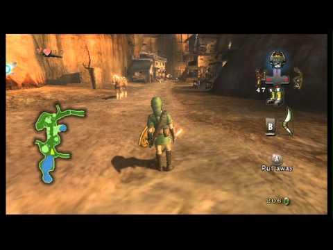 Legend of Zelda Twilight Princess Part 18 Outtakes - Tetris & GBA