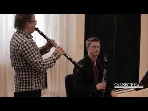 Carnegie Hall Clarinet Master Class: Beethoven's Symphony No. 6