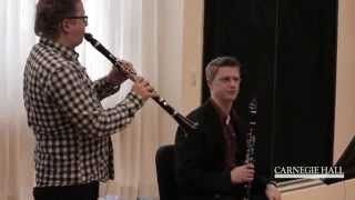 Carnegie Hall Clarinet Master Class: Beethoven
