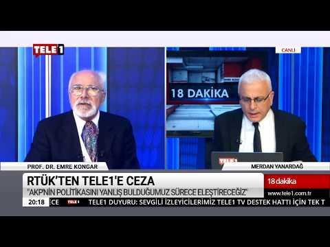 18 Dakika - (7 Aralık 2018) Merdan Yanardağ & Prof. Dr. Emre Kongar   Tele1 TV